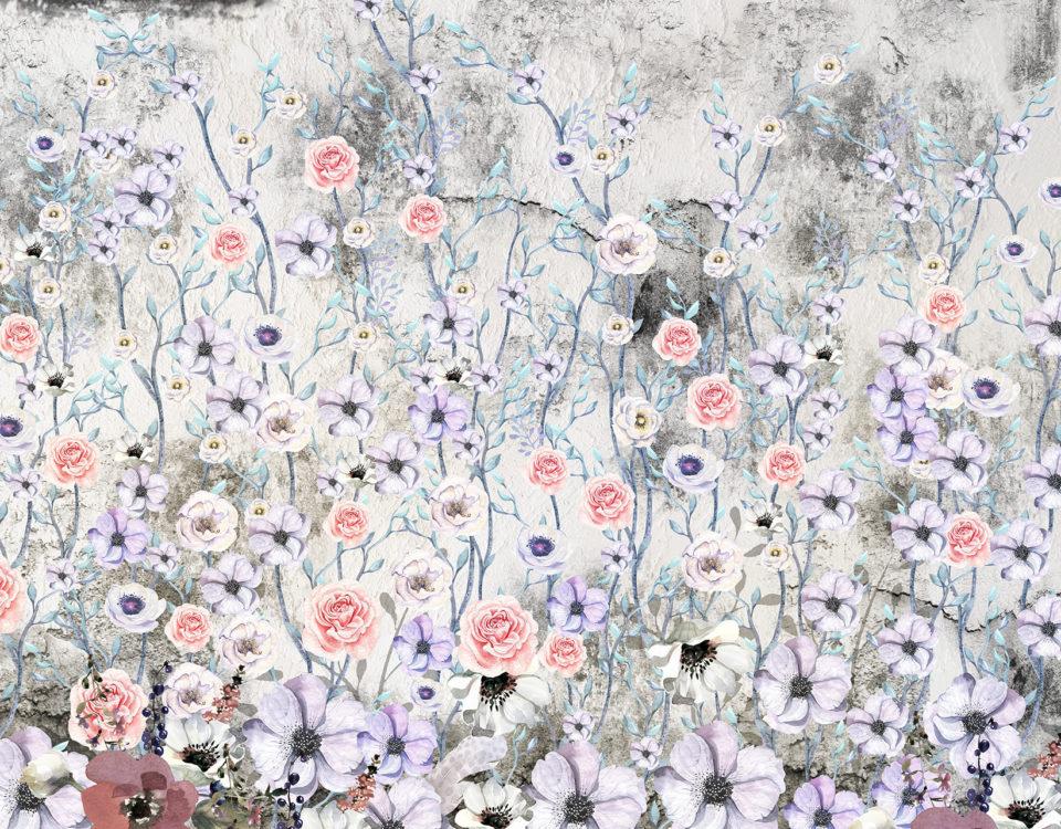 фотообои маленькие цветы красивые обои на стену