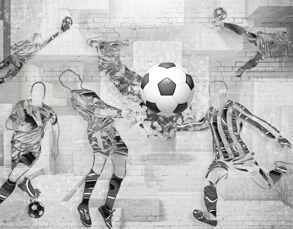 фотообои футбол купить на стену футбольный мяч обои