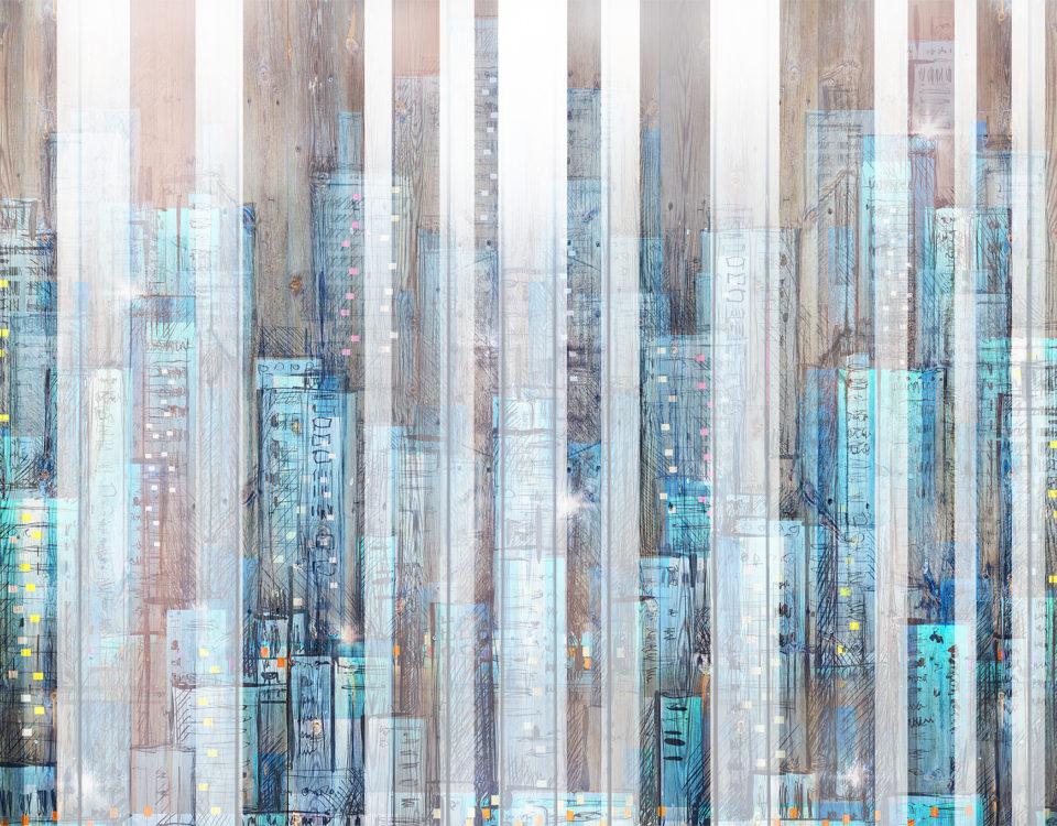 фотообои абстракция город необычные фотообои купить