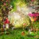 фотообои детские сказоычный лес бесшовные флизелиновые фотообои в детскую купить