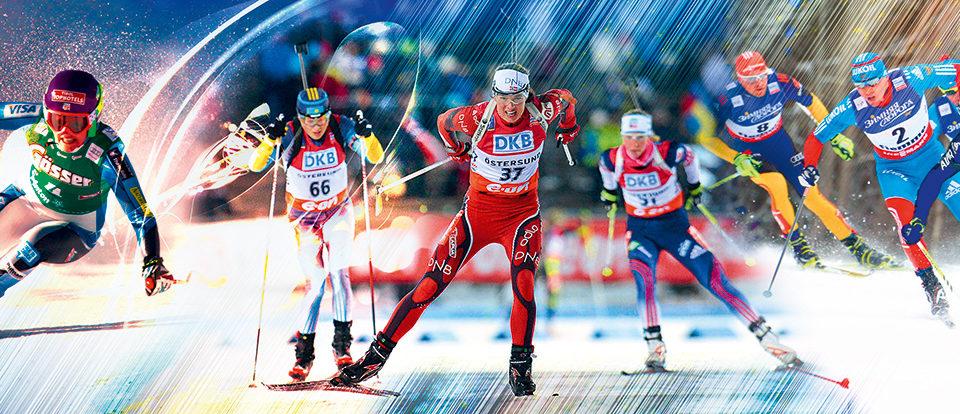 фотообои лыжный спорт