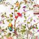 фотообои птицы с цветами
