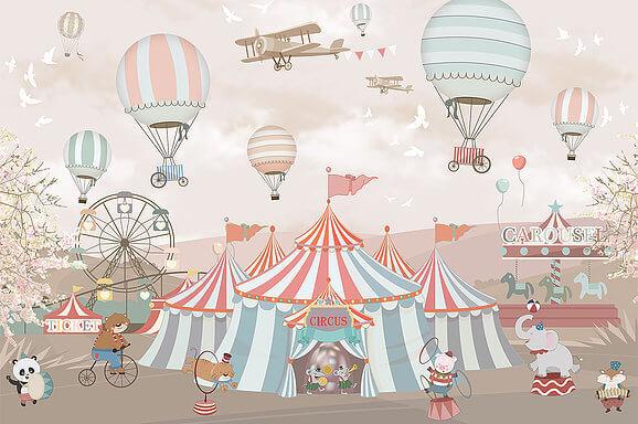 обои цирк