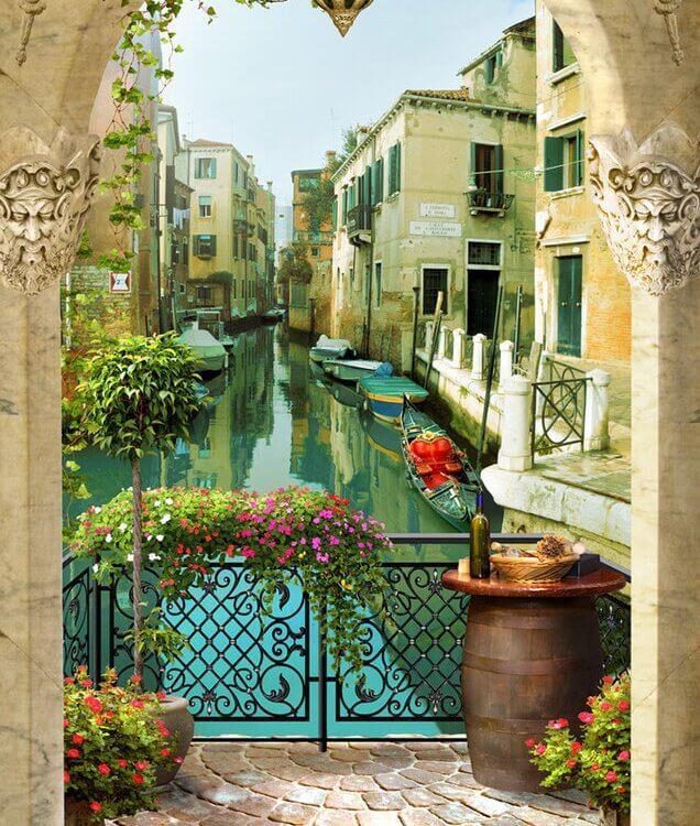 фотообои венеция +на стену