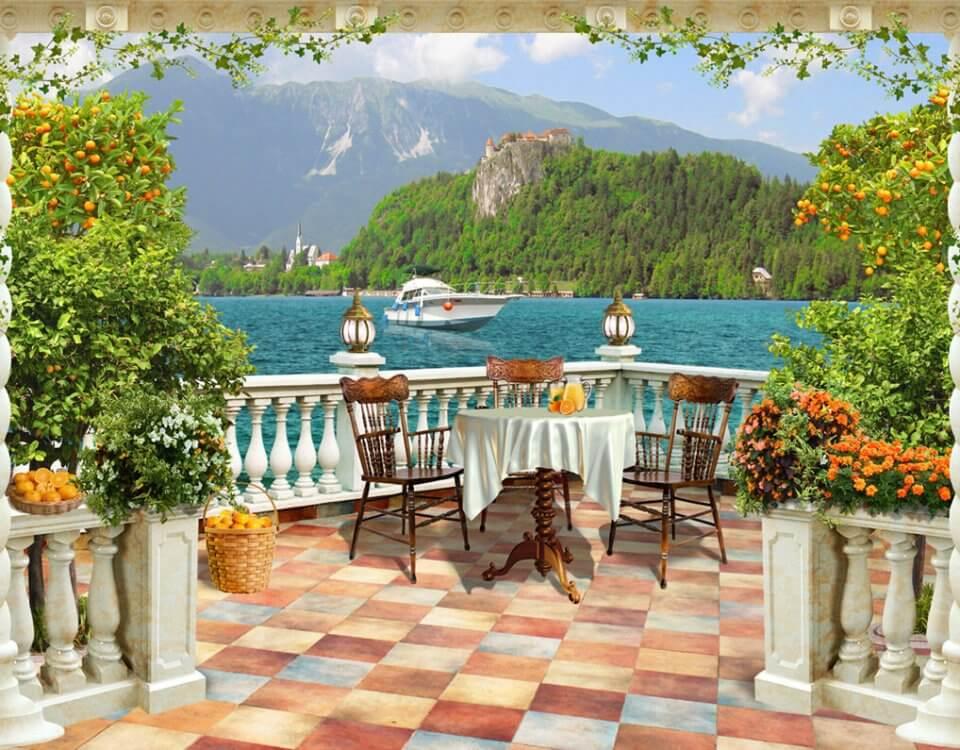 фотообои вид балкон