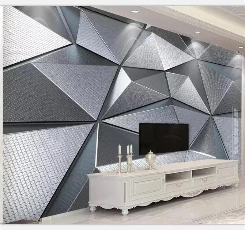 обои геометрия +для стен. Рулонные материалы - от 990 рублей
