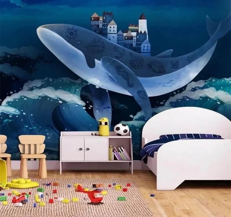 фотообои кит. фото обои кит. фотообои детские