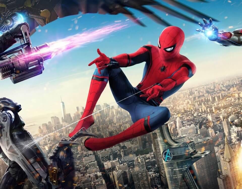 Фотообои с героями фильма человека паука приведут в восторг вашего ребенка