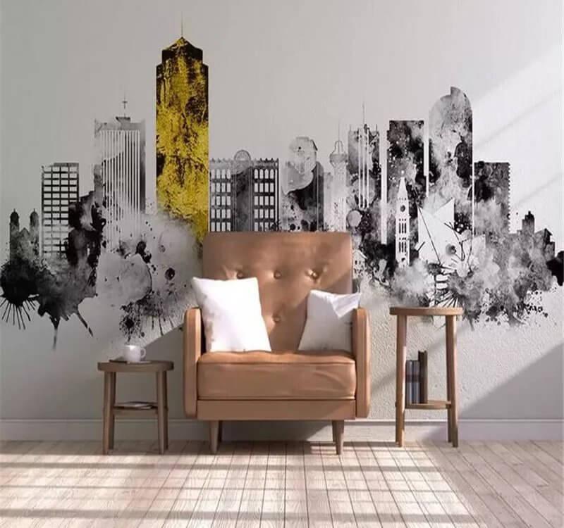 5. Наши авторы делают уникальные фотообои в черно-белом цвете. Их отличительная особенность заключается в использовании полного диапазона цветов от черного до белого. Иногда яркая деталь на картинке делает изображение просто уникальным.