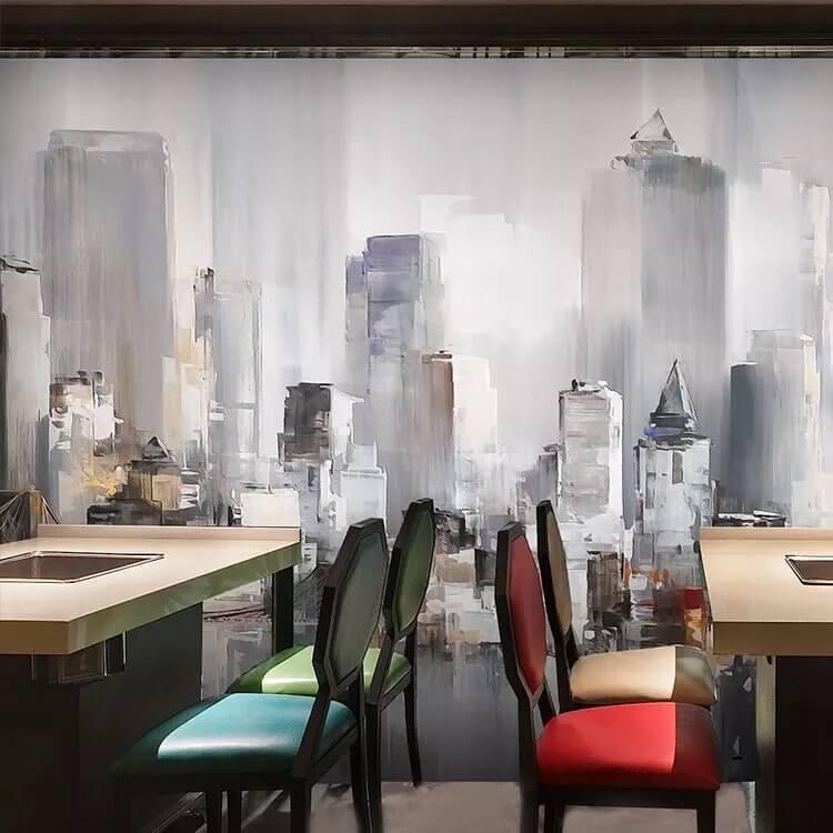 Фотообои город - беспроигрышный вариант для оформления жилых и коммерческих помещений