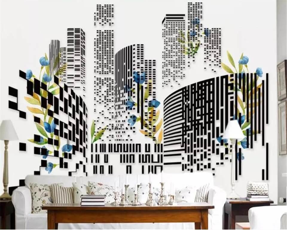 Небоскребы фотообои относятся к современному искусству, подходящему для людей, идущих в ногу со временем. Современный дизайн зданий, выполненных из стекла и бетона заряжает помещение рабочей атмосферой и энергией. Подходят для оформления гостиной комнаты, рабочих кабинетов и офисов.