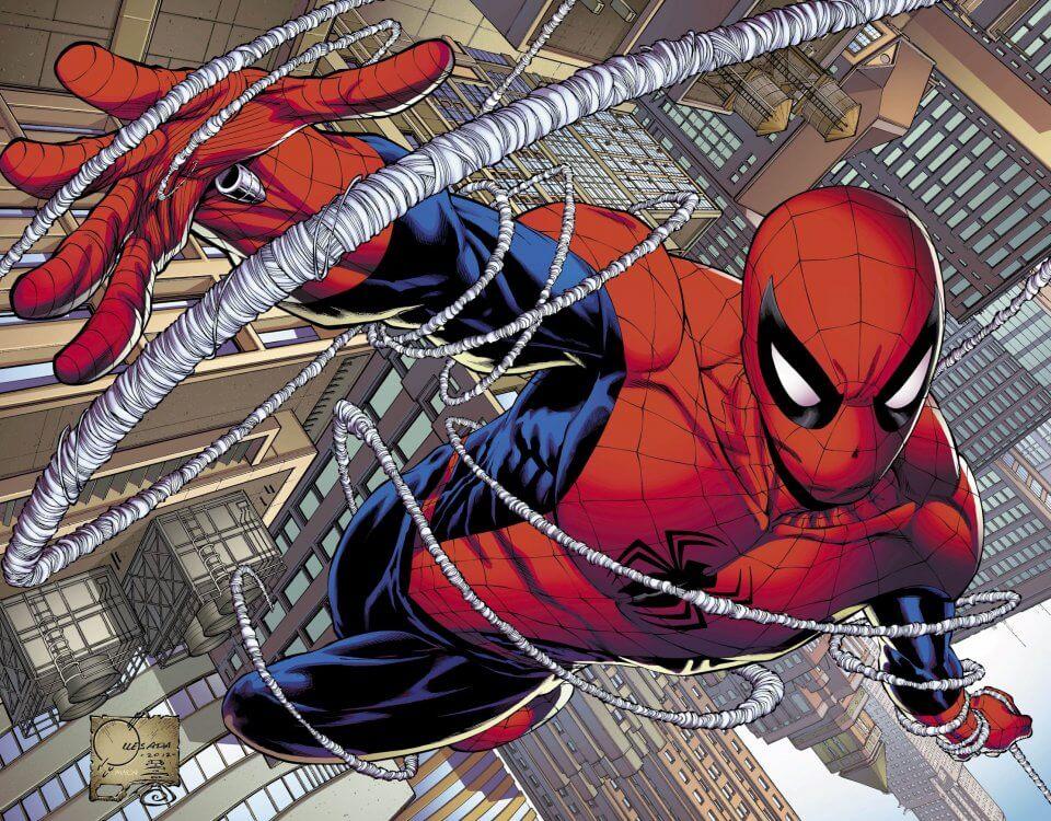 фотообои человек паук в высоком разрешении для бесшовных текстур