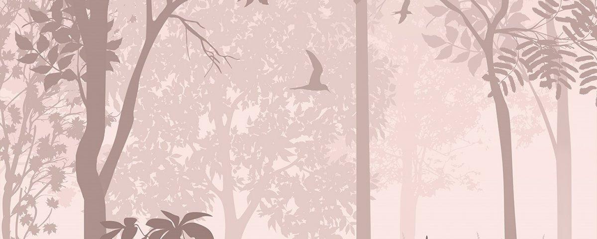 Фреска лес