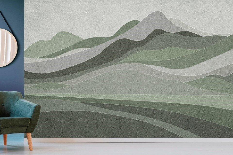 фотообои виды гор на флизелиновых материал или натуральных фресках