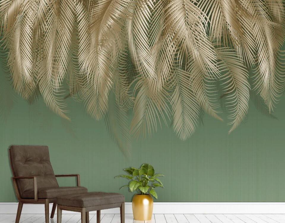 фреска листья