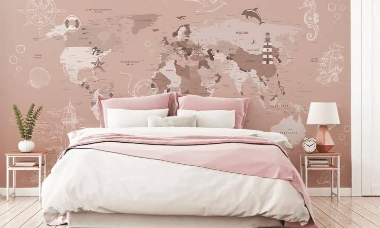 фотообои карта мира +на стену +для детской