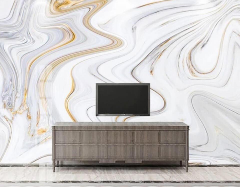 Фотообои с имитацией мрамора на бесшовных флизелиновых текстурах. Еще больше принтов в нашем каталоге
