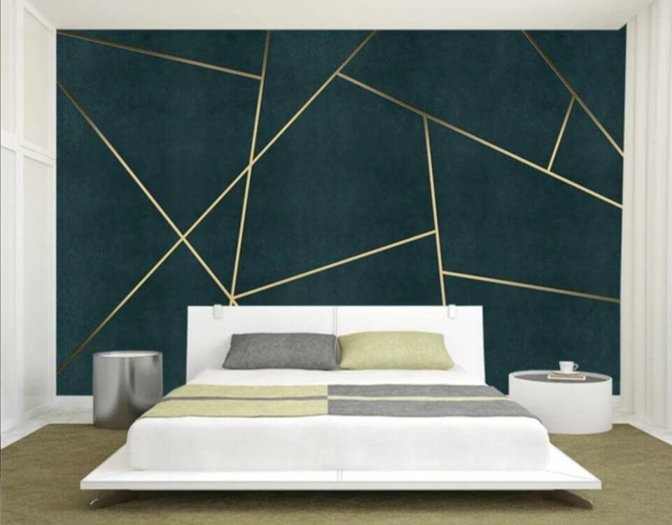 Несмотря на простоту и узнаваемость паттернов, геометрические мотивы создают оригинальные эффекты в помещениях с различной планировкой.