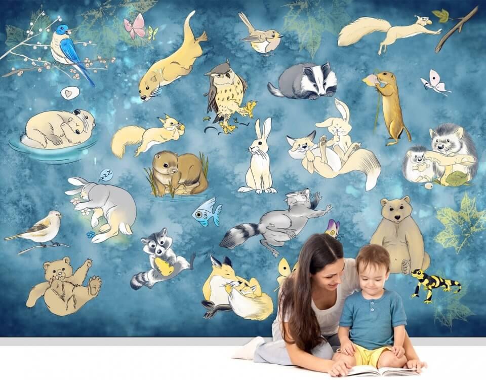 фотообои с животными на стену