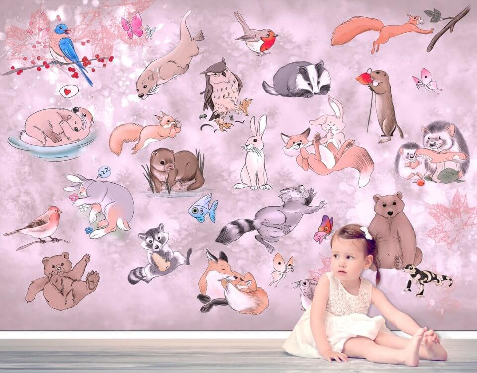 фотообои с животными