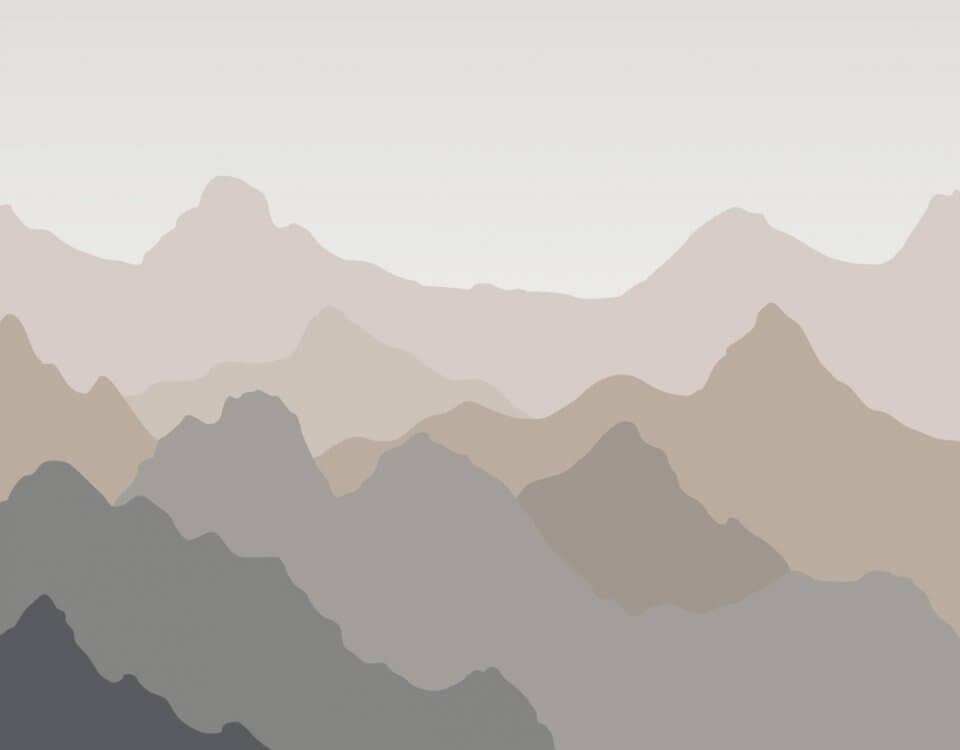 фотообои горы на стену. Большой выбор материалов и фактур. Латексная печать. Доставка по миру