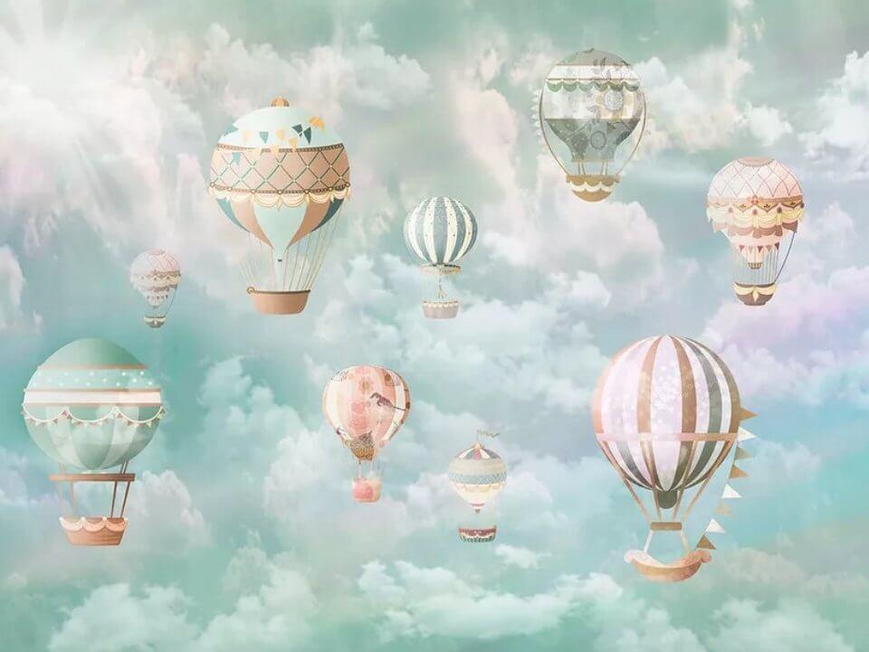 фотообои воздушные шары купить