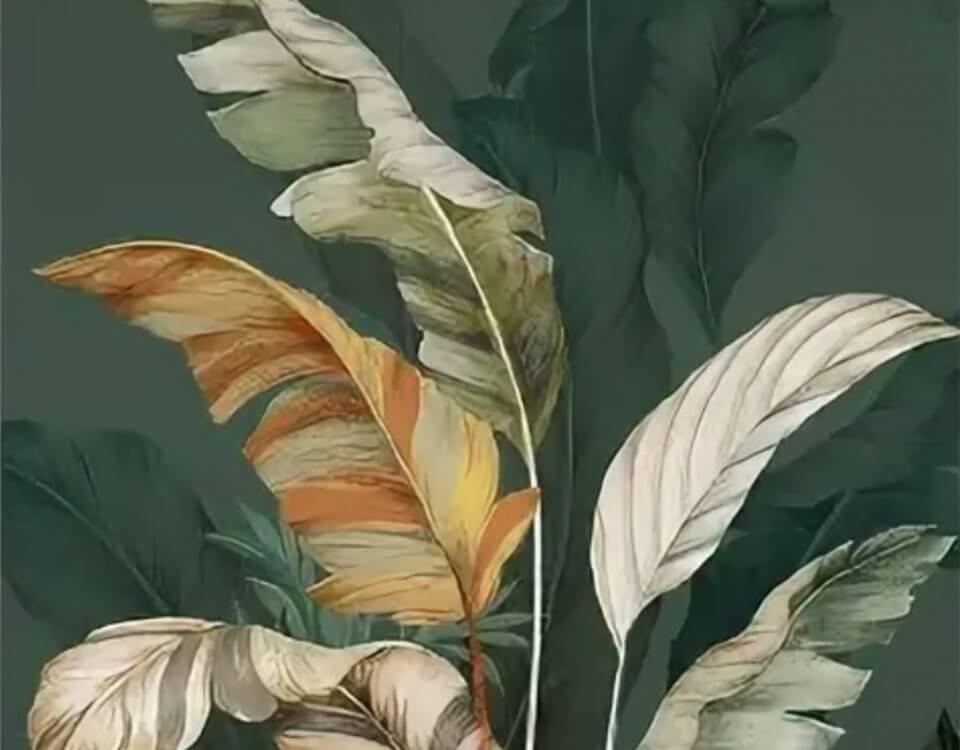ветви банановых листьев коллекция обоев. Доставка по миру
