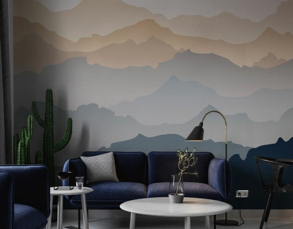 фотообои горы +на стену