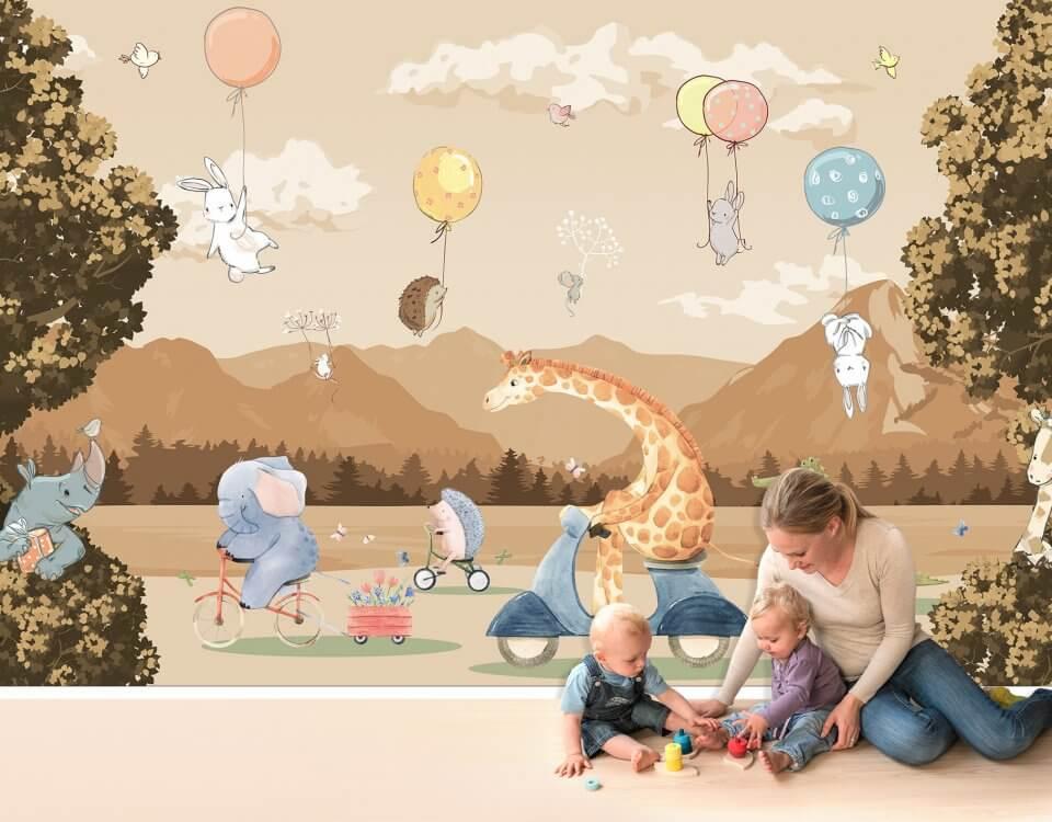 фотообои жираф на флизелиновых материалах. Любой размер для ваших проектов. Доставка по миру