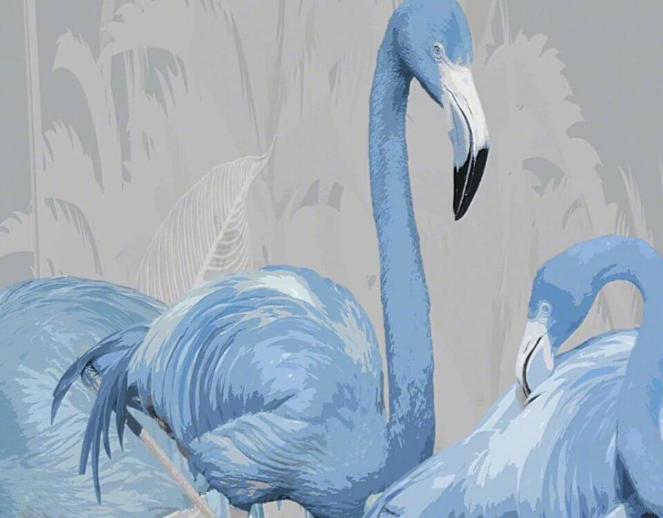 фотообои фламинго купить с доставкой в любой город. Качественные материалы и латексная печать. Сделано с любовью