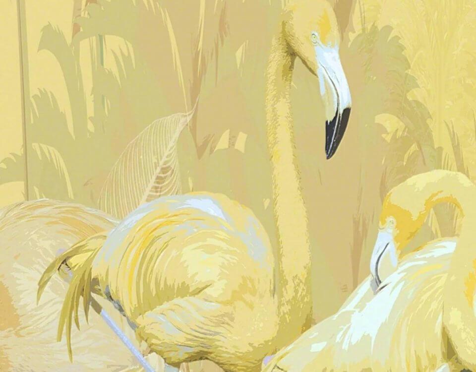 фотообои +с фламинго +в детскую. Большой каталог на нашем сайте. латексная печать. доставка по миру