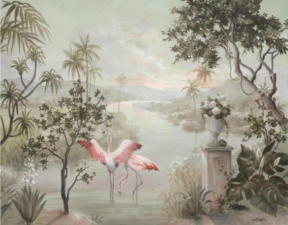 купить обои фрески. Более 30 фактур для печати фресок. Натуральные - с декоративной штукатуркой и речным песком. Без стыков и швов.