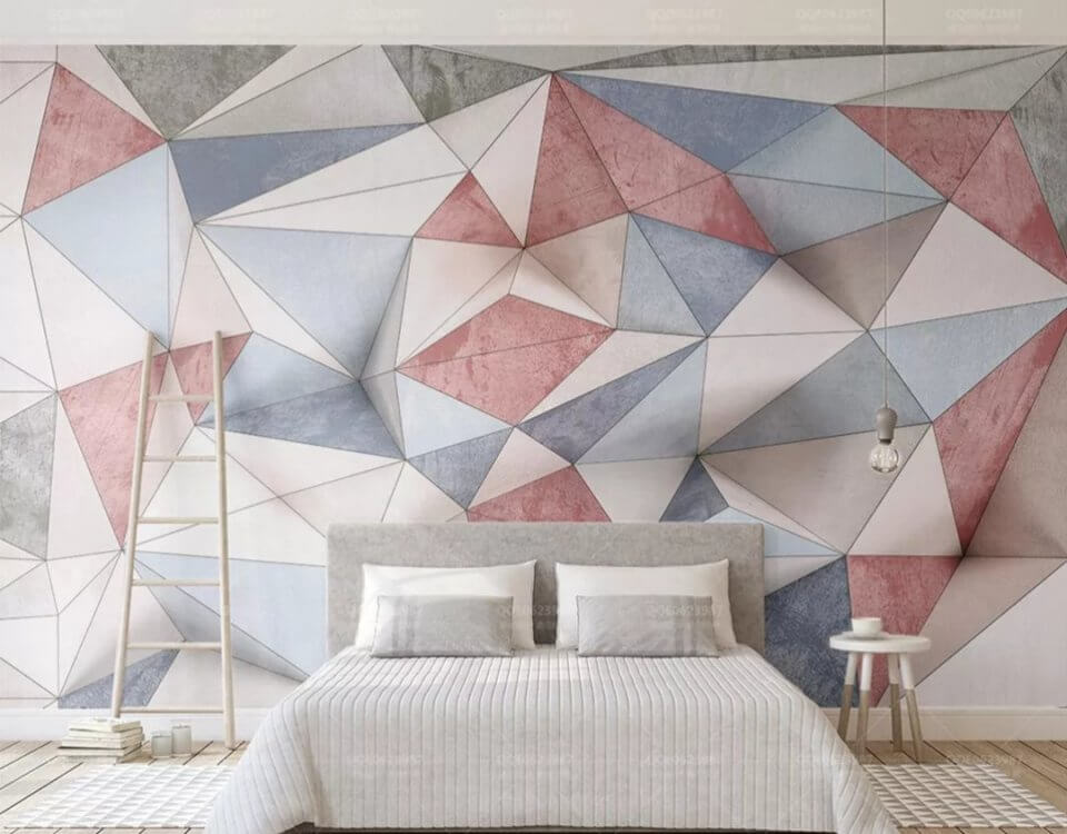 фотообои геометрия +на стену. Большой каталог с геометрическими принтами. латексная печать. Доставка по миру.