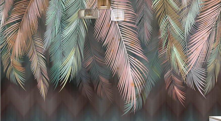 фотообои листья пальмы. фотообои с доставкой