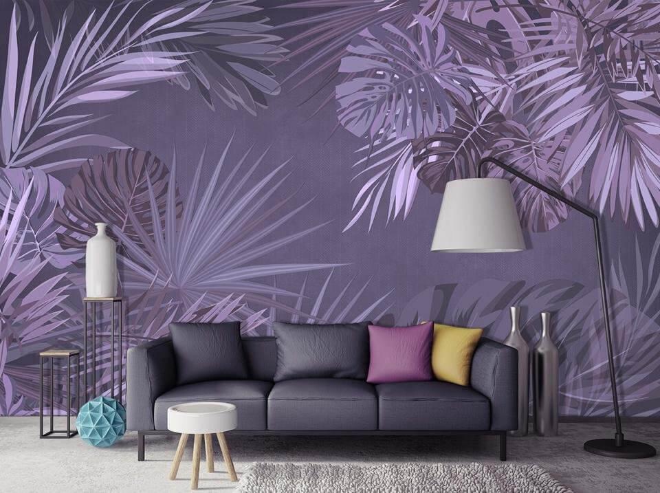 фотообои +с листьями +на стену