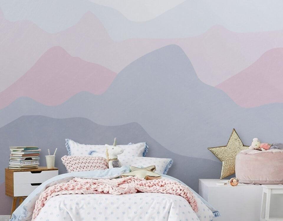 фреска горы. фреска на стену. фрески на стену каталог фото
