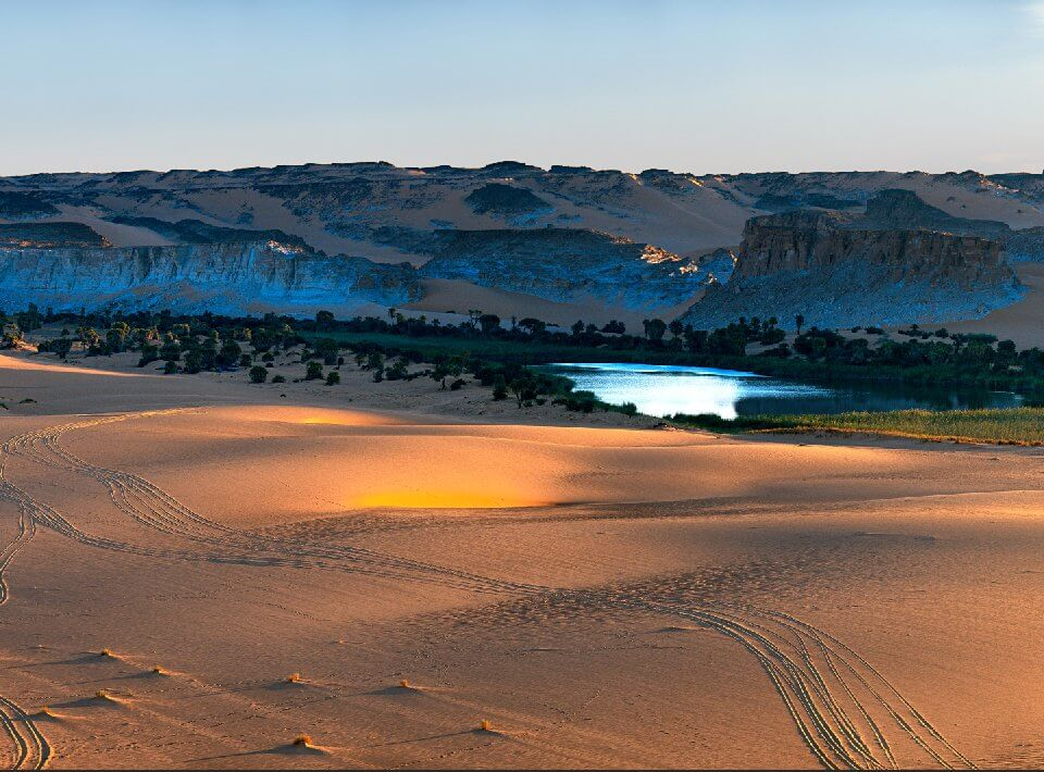 фреска с пустыней. фотообои на стену пустыня. пески пустыни. +к +чему снится пустыня +и песок