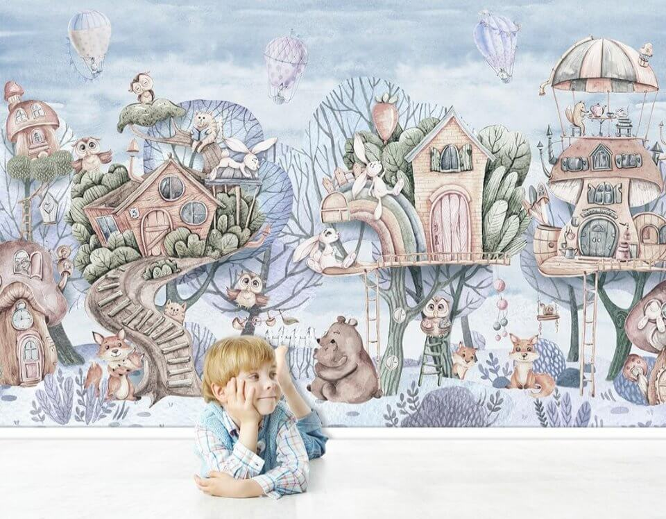 children's photo Wallpapers with worldwide delivery