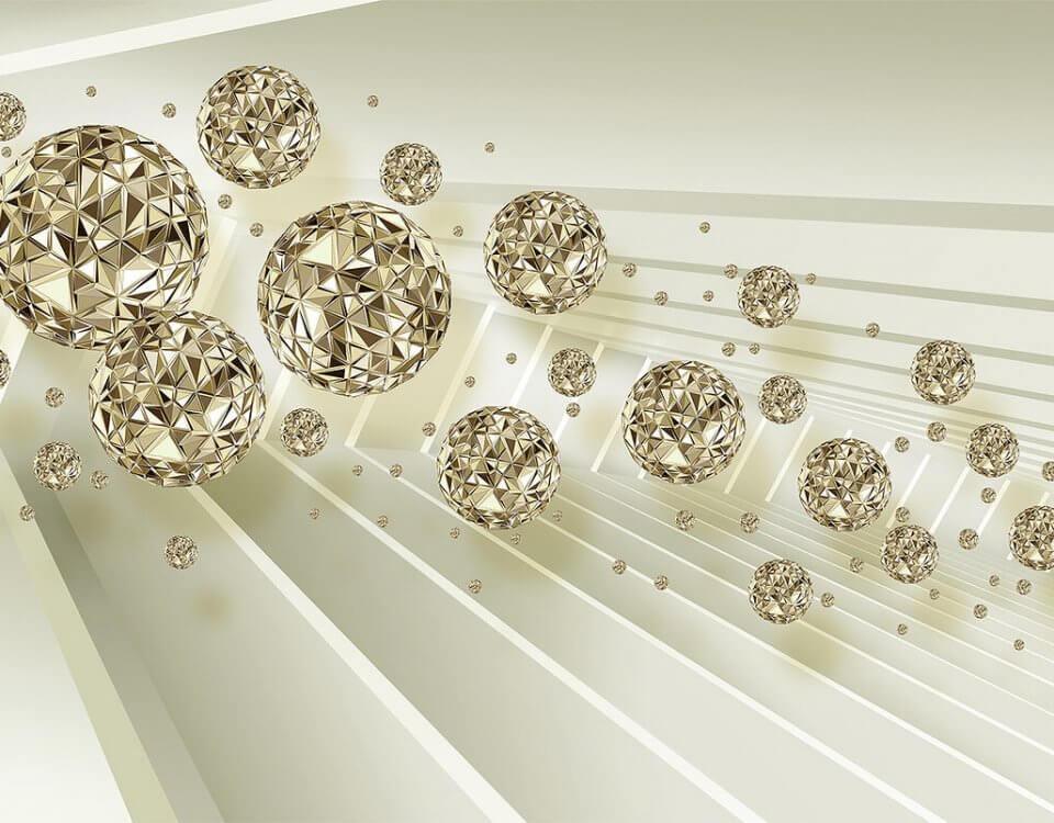 фотообои кристаллы. абстракция обои кристаллы