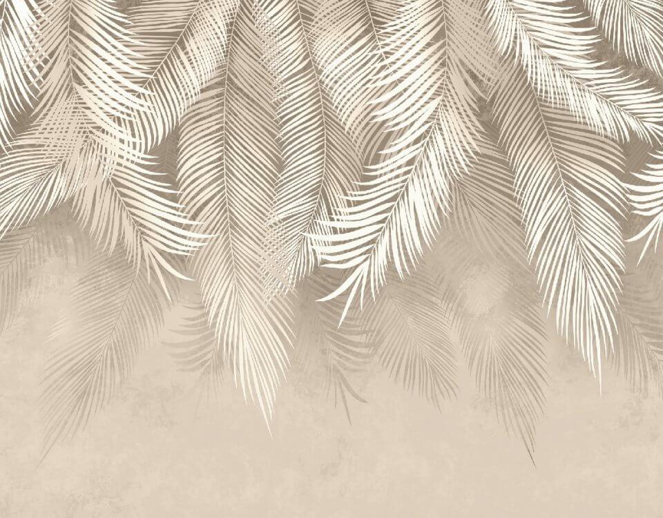 тропические фотообои