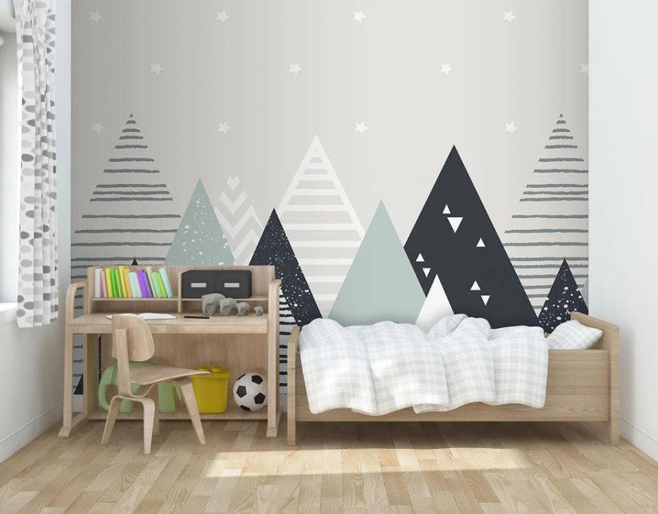 фотообои горы в детскую купить. флизелиновые обои горы на стену