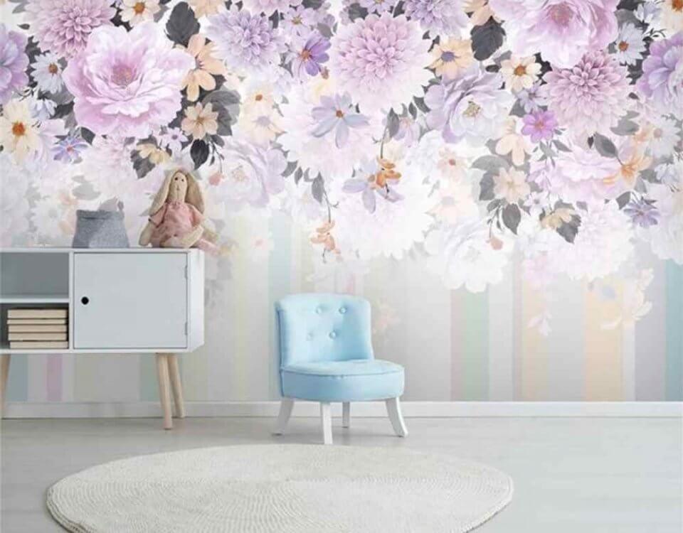 фотообои с цветами купить по своим размерам цветопроба только латексная печать