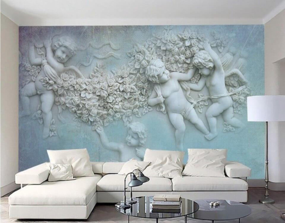 фреска купидоны