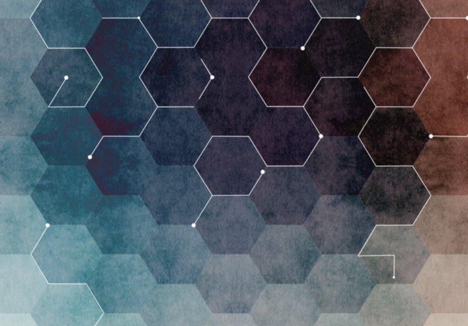 фотообои геометрия печать по индивидуальным размерам
