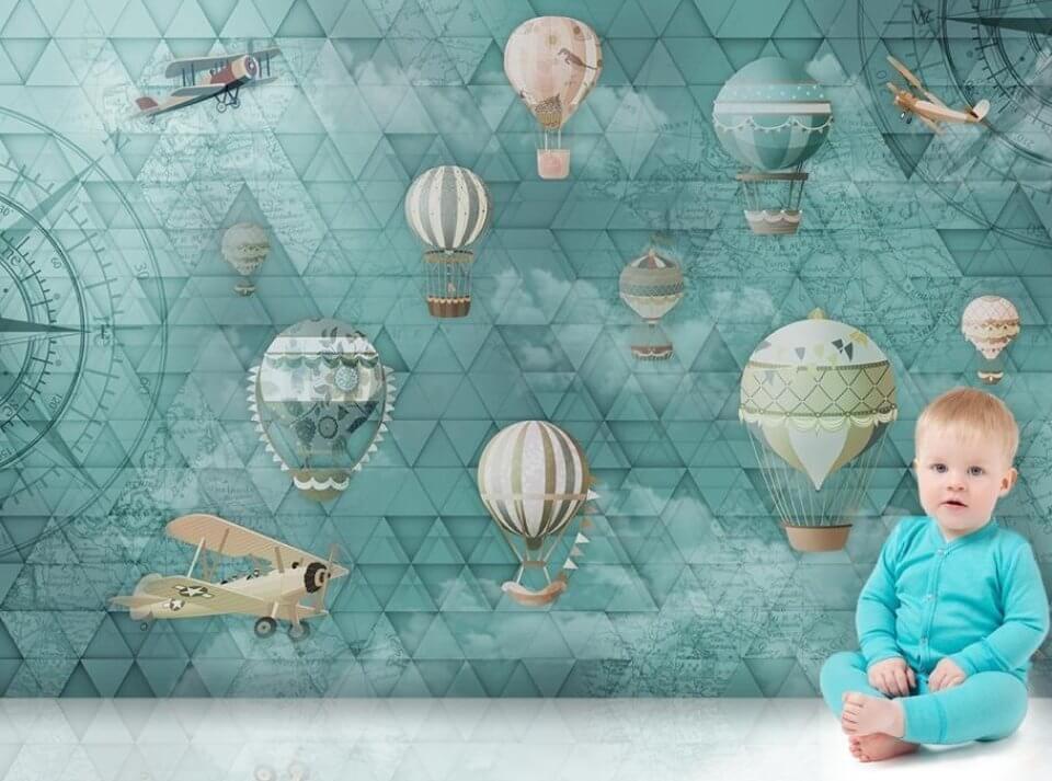 флизелиновые фотообои с рисунком для детской