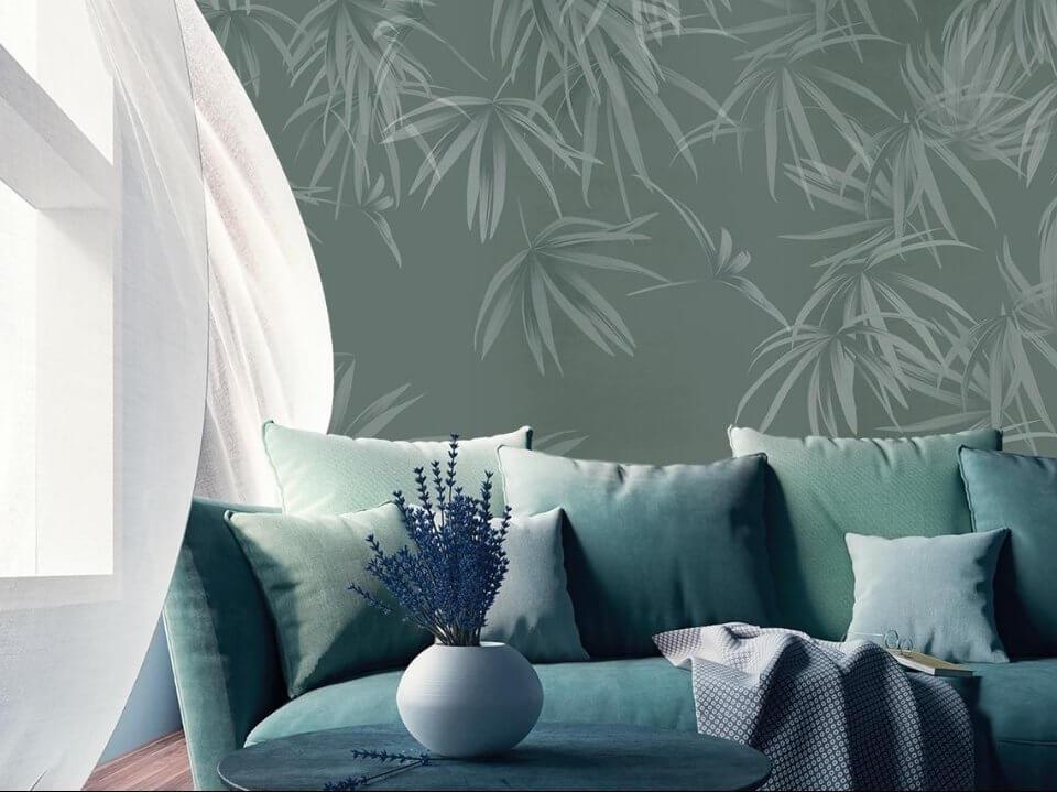 тропические ветви фотообои с ветвями необычные панно на стену