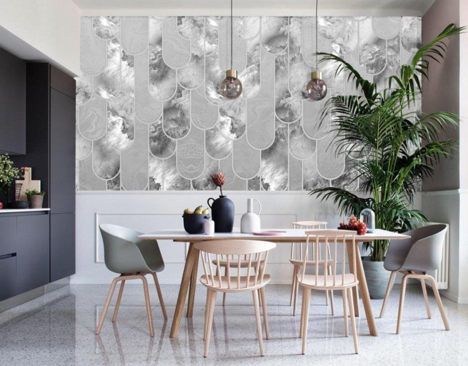 фотообои с флюидами купить на стену с печатью по индивидуальным размерам. дизайнерские фотообои и фрески
