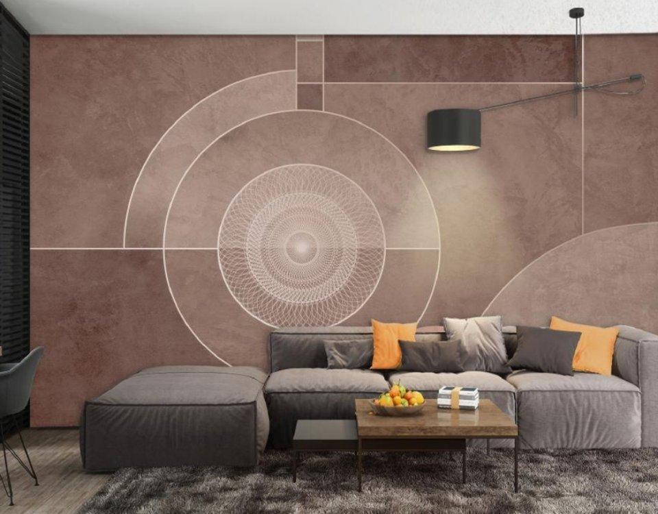 фотообои геометрия купить на стену. необычные обои купить