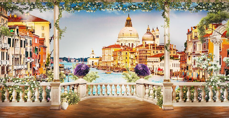 фотообои фрески Венеция купить по своим размерам