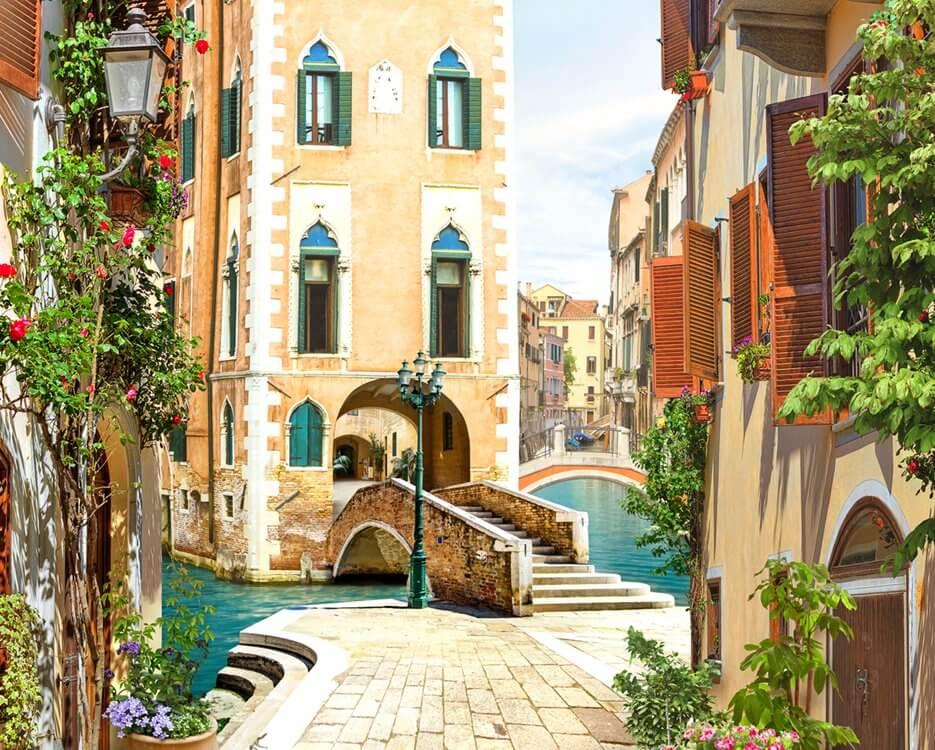 фотообои фреска город Венеция купить по своим размерам